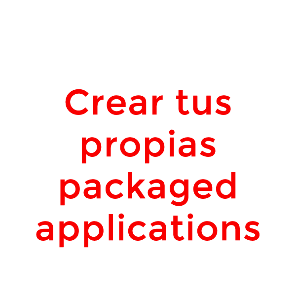 packaged application