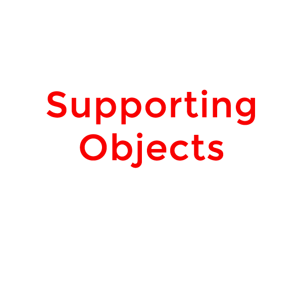 supporting objects
