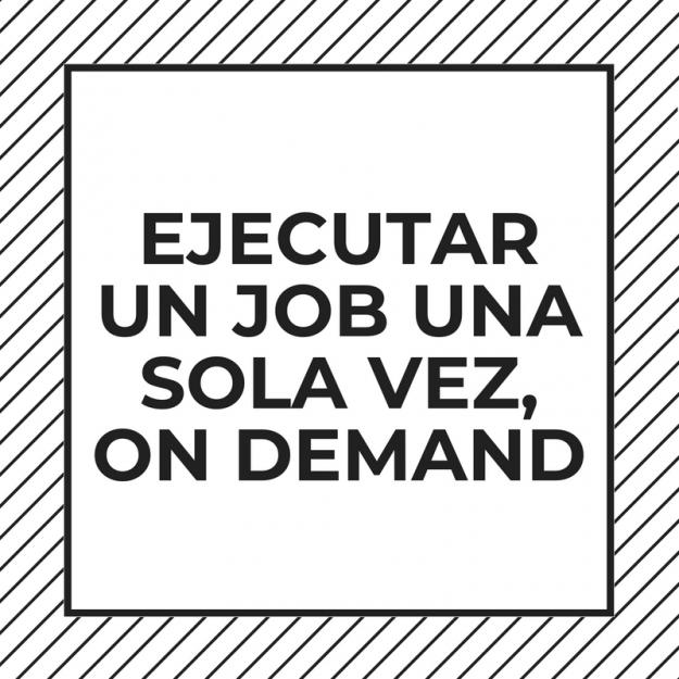ejecutar job