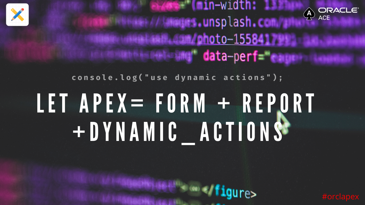 dynamic actions